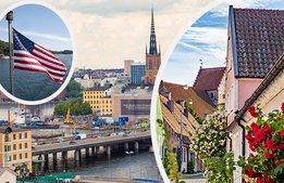 Svag krona lockar fler utländska besökare