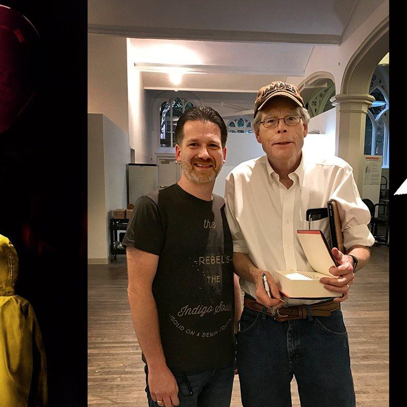 Hans-Åke driver världens största fansajt om Stephen King: