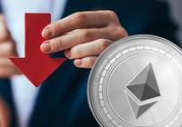 Blodrött på kryptomarknaderna –ethereum backar sju procent