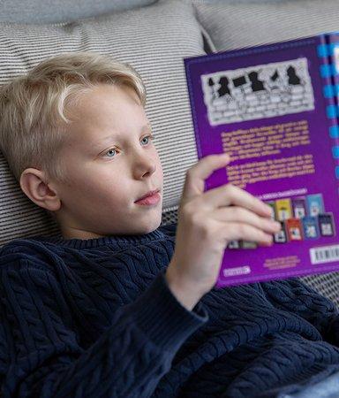 Knepen som funkar: Gör barnen till läsare under lovet