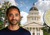 Bitcoinmiljardären Chamath Palihapitiya vill bli guvernör i Kalifornien