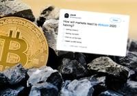 Ett år kvar till bitcoins halvering – nu tror 60 procent att priset kommer gå upp inför