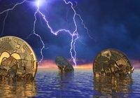 Efter den senaste tidens uppgångar – nu faller bitcoinpriset