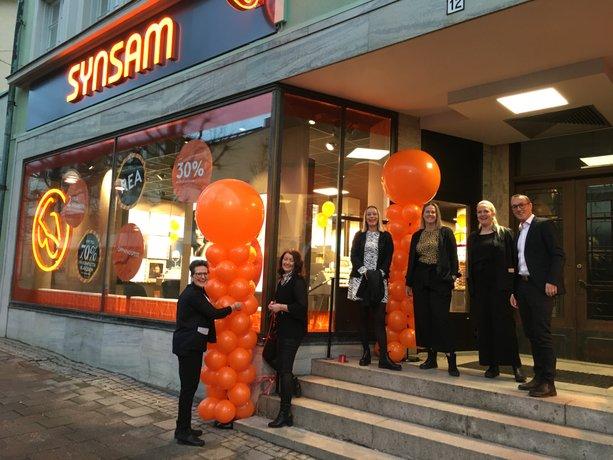 Rekordår för Synsams butiksetableringar. 18 nya butiker under 2019, här öppnas Synsam i Kumla.