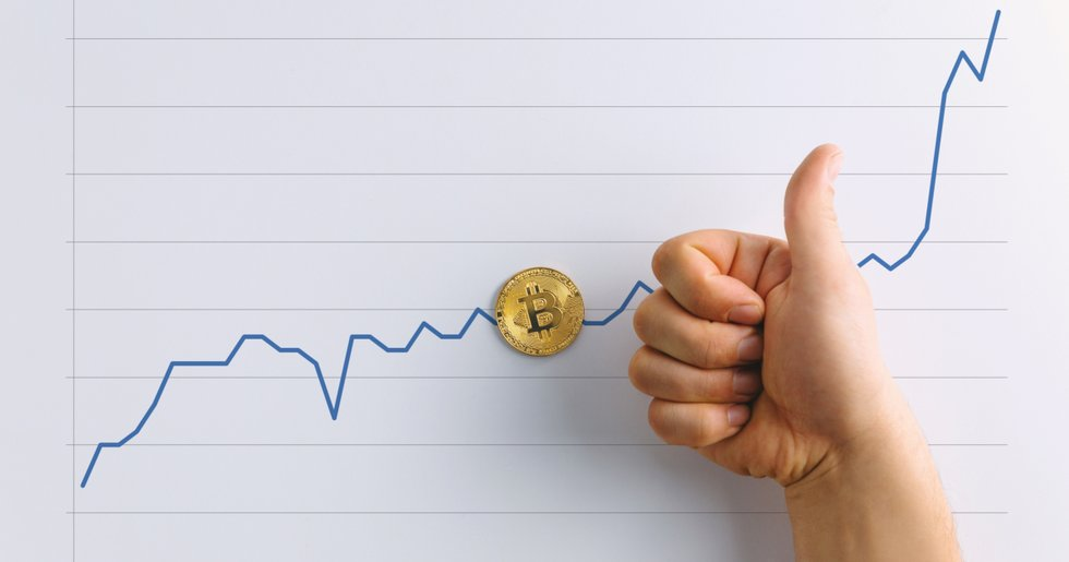 Best month of the year for bitcoin – 33 percent up.