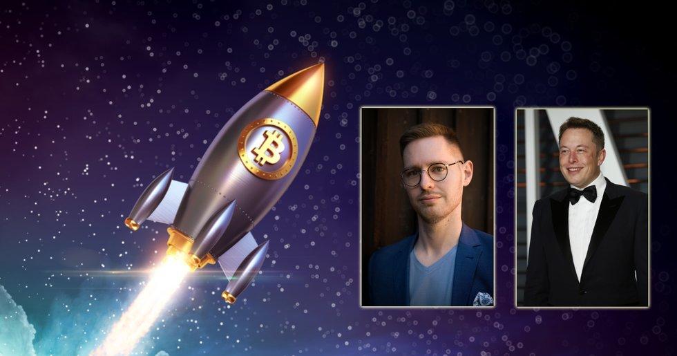 Expert tror på fortsatta rusningar när Musk-besked får bitcoinpriset att stiga