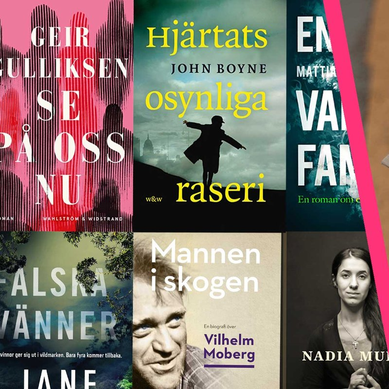Årets bästa böcker 2018 — SelmaStories väljer 6 favoriter