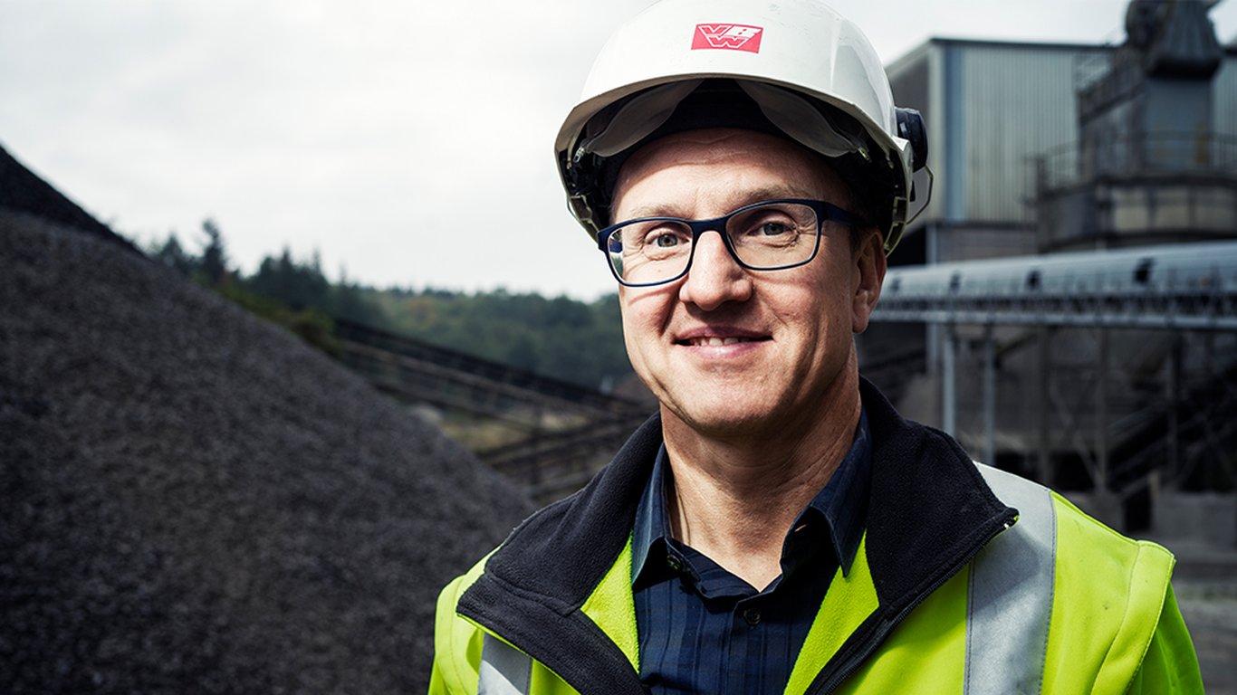 <p>Bernd Krempel, directeur général de  la Vogelsberger Basaltwerk.</p>