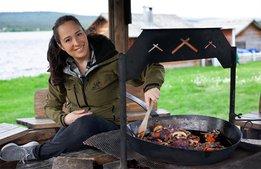 """""""Allt med vilt och den samiska kulturen är nytt för mig"""""""