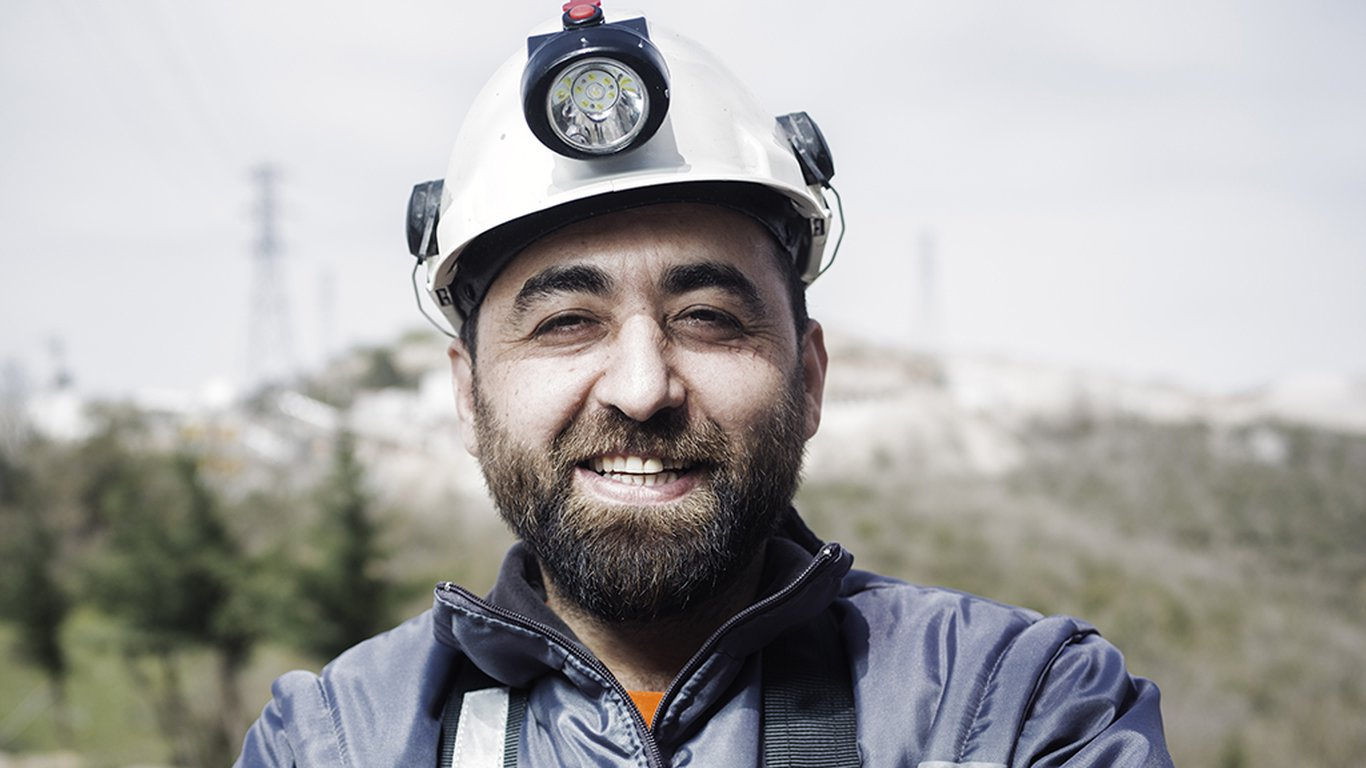 <p>Şükrü Kahraman, shift supervisor at Sargın Construction and Machinery.</p>