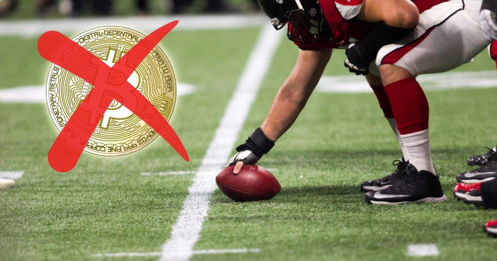 Amerikanska fotbollsligan NFL förbjuder lag att satsa på kryptovalutor