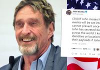 John McAfee misstänks ha gripits – hotar med att läcka hemliga dokument