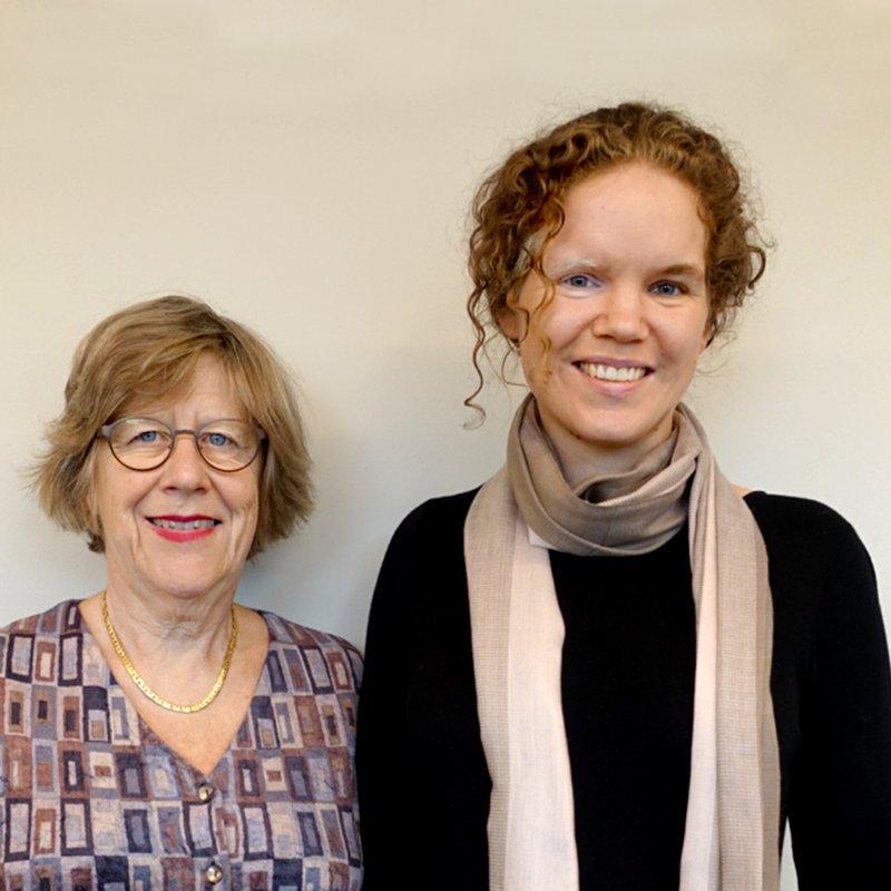 Agnes Wold och Cecilia Chrapkowska