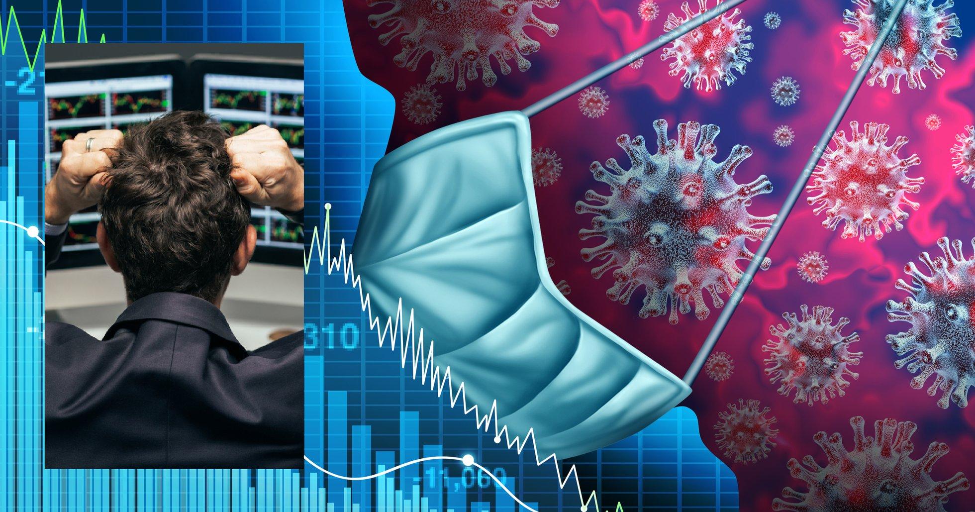 Världens aktiemarknader kollapsar – Stockholmsbörsen rasar 11 procent.