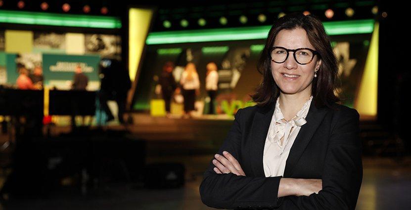 Louise Söderlund, vd för Isaberg Mountain Resort i Småland, är  Årets kvinna i besöksnäringen. Foto: Anna Björkegren