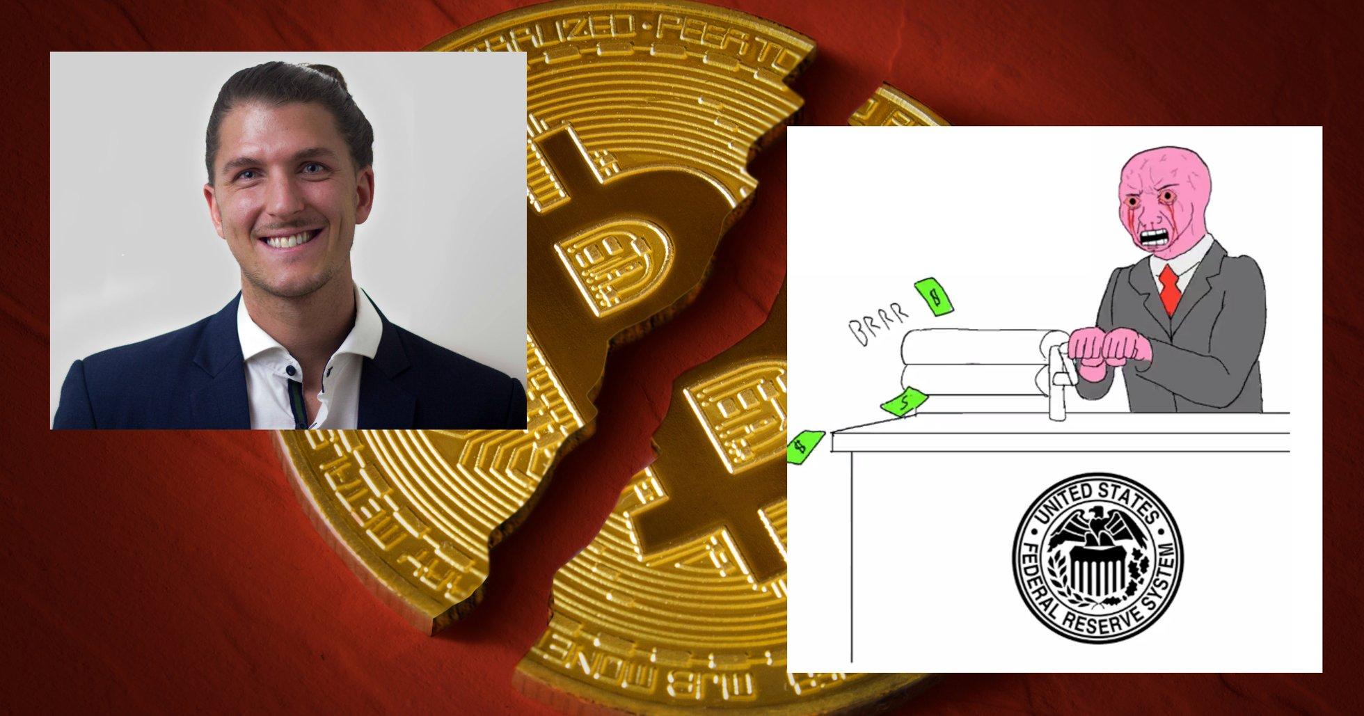 Dennis Sahlström: Därför kan bitcoinpriset krascha till 3 000 dollar.