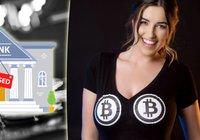 """Kryptoprofilen """"Bitcoin Babe"""": Jag har blivit avstängd från 91 olika banker"""
