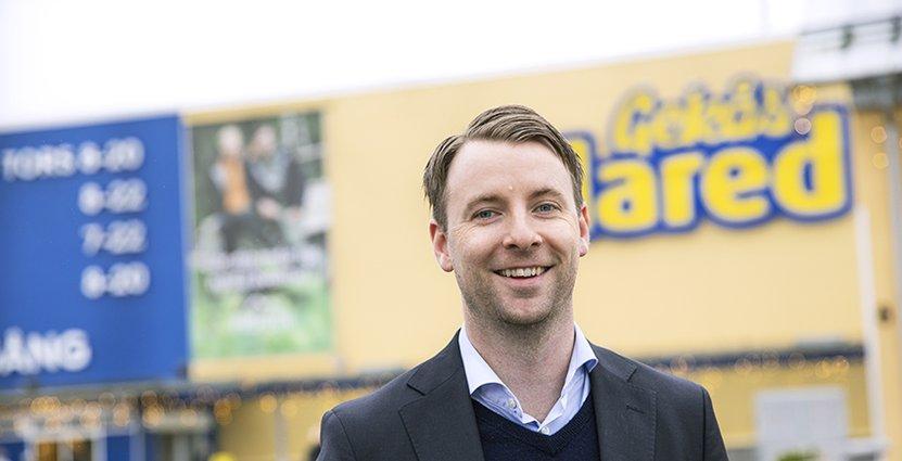 Gekås nya vd Patrik Levin ser positivt på utmaningarna. Foto: Katarina Larsson