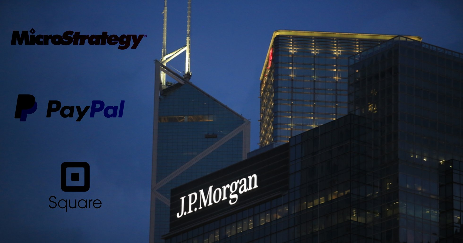 JP Morgan skapar ny produkt som investerar i kryptoexponerade företag