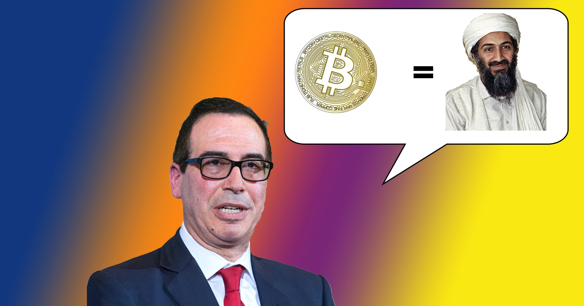 USA:s finansminister: Bitcoin är ett hot mot den nationella säkerheten