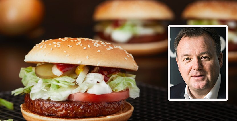 En utmaning för McDonalds är att fortsätta att utvecklas<br />  efter gästernas förändrade behov, säger vd Thomas Kelly. Foto: McDonalds