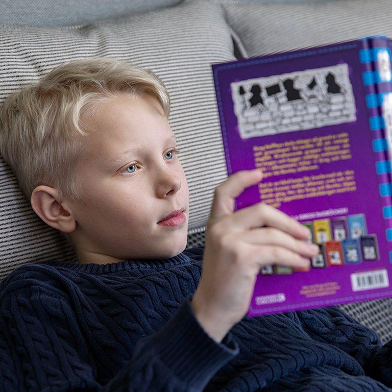 Dämpa paniken med knep som funkar och gör barnen till läsare
