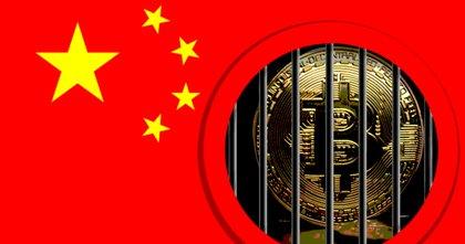 Bitcoinprisets skakiga helg – efter Kinas senaste kryptovarning
