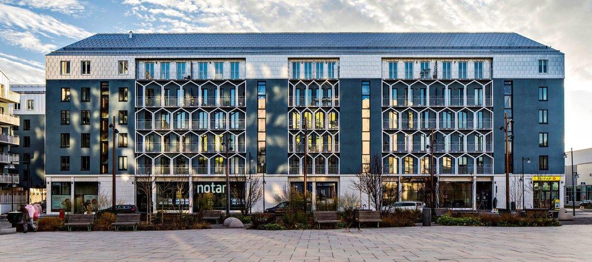 Kvarteret Paraden vinner Byggnadsmärket 2018