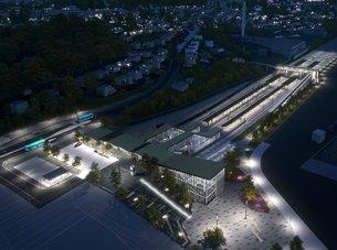 Moss får ny jernbanestasjon og 5000 nye boliger