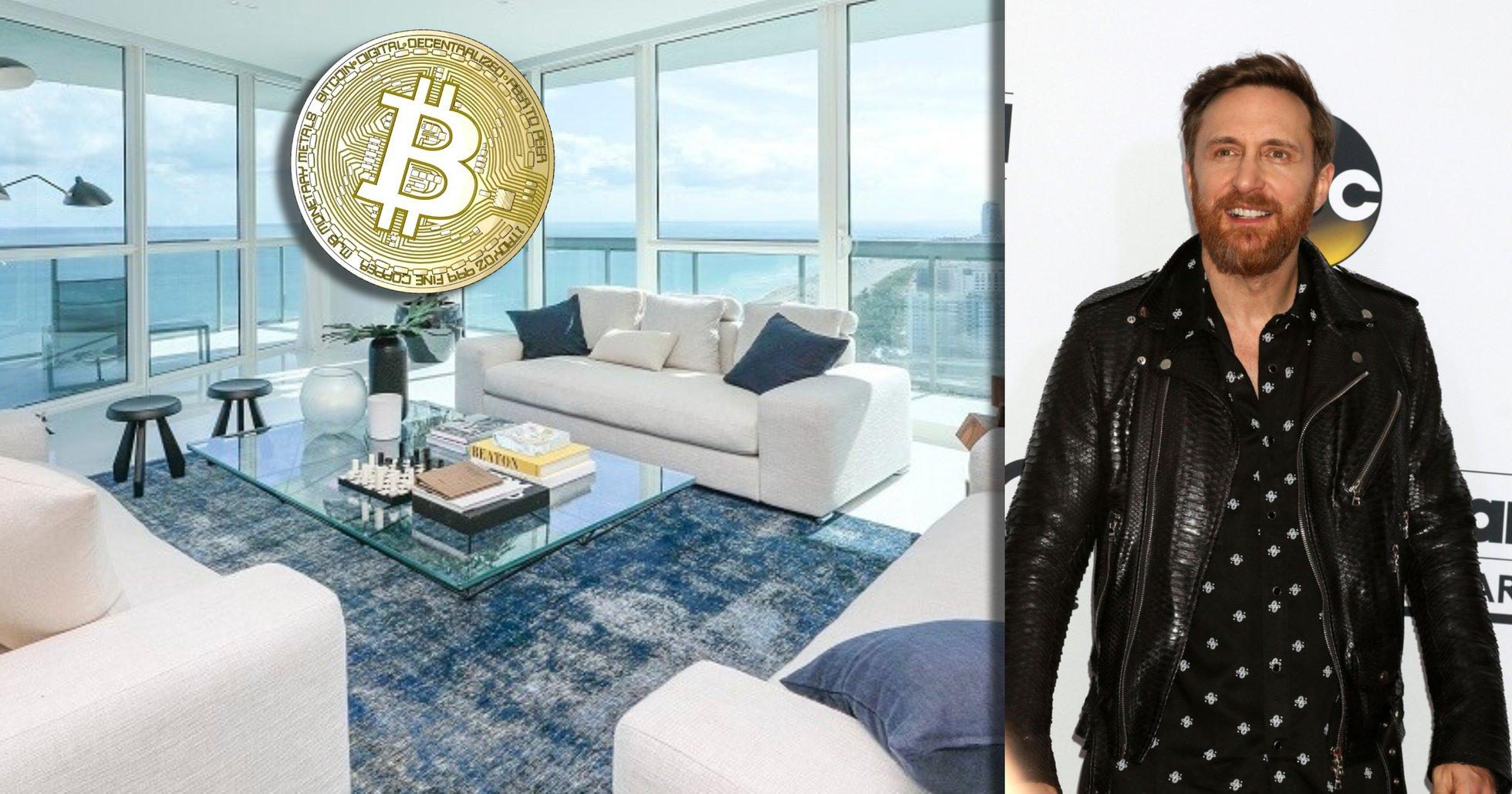 Nu kan du köpa David Guettas lyxlägenhet – och betala med bitcoin