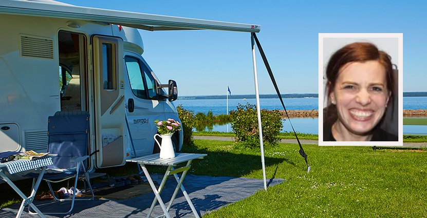 På Råbocka Camping var midsommar fullbokad redan för<br />  en månad sedan, säger delägare Madelene Bernaxel. Foto: Colourbox, SCR