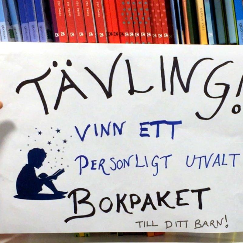 Tävla och vinn utvalt bokpaket för ditt barn!