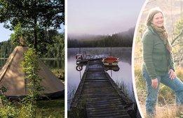 Björsbo lockar utländska gäster till djupaste Småland