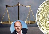 Mike Novogratz: Bitcoinkursen stabiliserar sig mellan 10 000 och 14 000 dollar