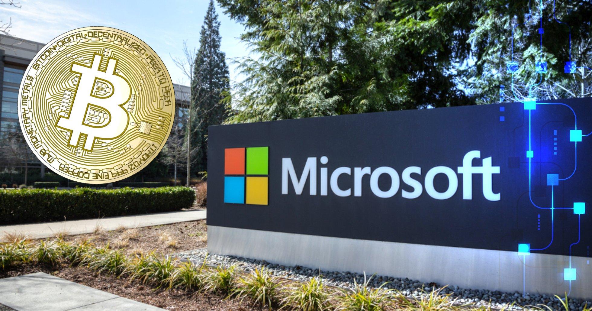Microsoft testar nätverk på bitcoins blockkedja – vill ersätta användarnamn