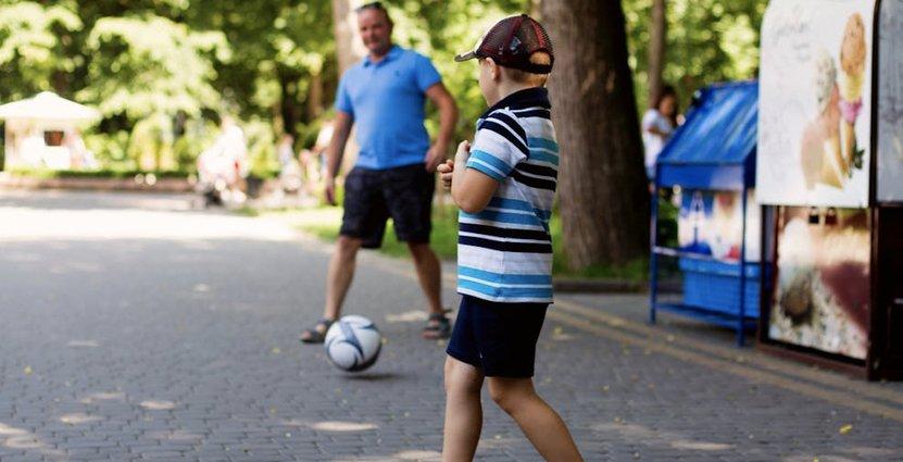 Fotbollsturneringen lockar familjer till Piteå.