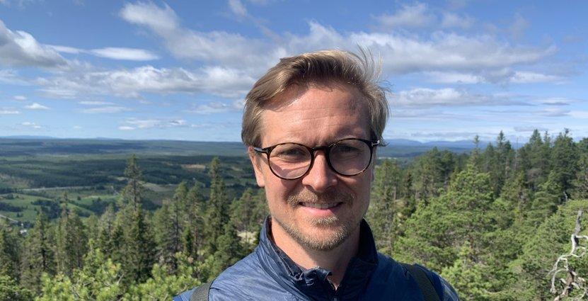 Marcus Ståhl, Fjällbyrån, hoppas kunna ena ena besöksnäringen och locka fler till Jämtland. Foto: Privat