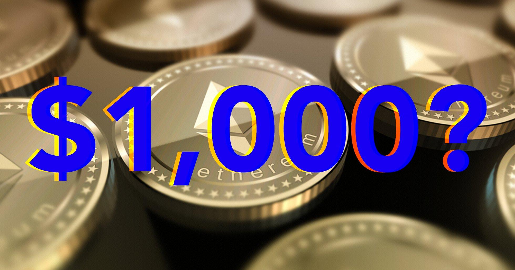 Ny opinionsundersökning: Ethereum kommer att nå 1 000 dollar igen