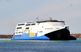Så många reste med nya Gotlandsbåten