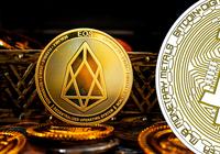 Eos ökar mest på stigande kryptomarknader