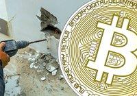Misstänkta tjuvar borrade genom betongvägg – för att stjäla 85 bitcoinmaskiner