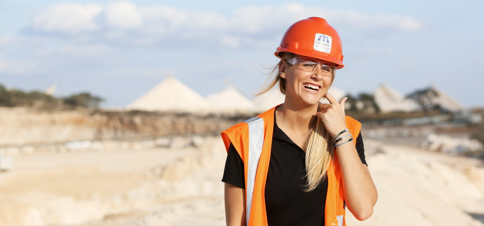 <p>The PEXCO Company's Justine Sorensen, one of the many attendees at the 2016 Quarry Academy, took away valuable lessons on improving process efficiency for producing aggregates in a safe environment.</p>