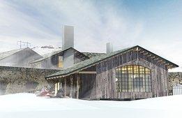 Efter miljonstöd: Riksgränsens nya lyxhotell klart nästa vinter