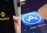 Binance's app for IOS returns to App Store: