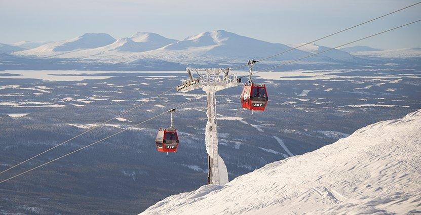 Dyster säsongsavslutning för Skistar. Foto: Skistar