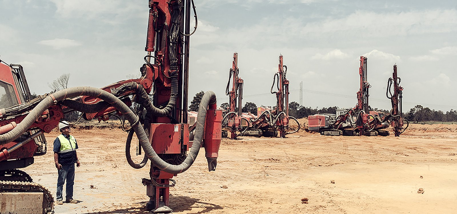 Highpoint and Diesel Power are mining contractors that specialize in drilling and blasting.