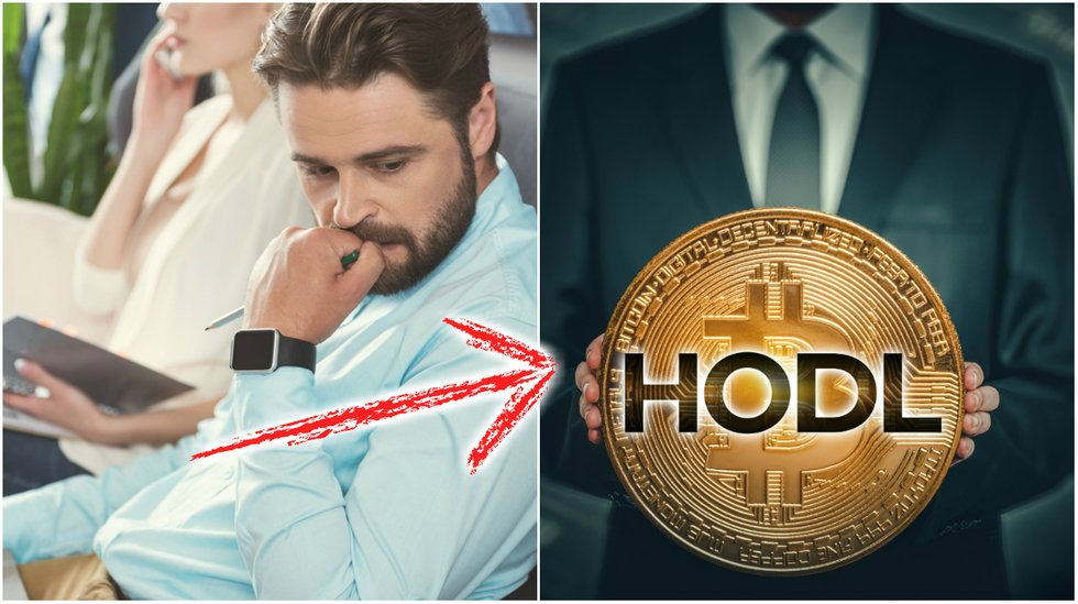 New study: Investors are holding on to their bitcoin.