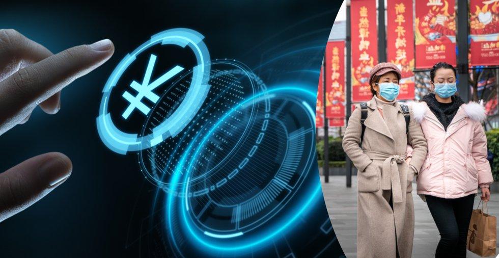 Trots coronakrisen – nu snabbar Kina på utvecklingen av sin digitala valuta