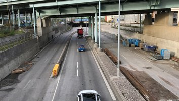 Dags för rörbyte i Götatunneln