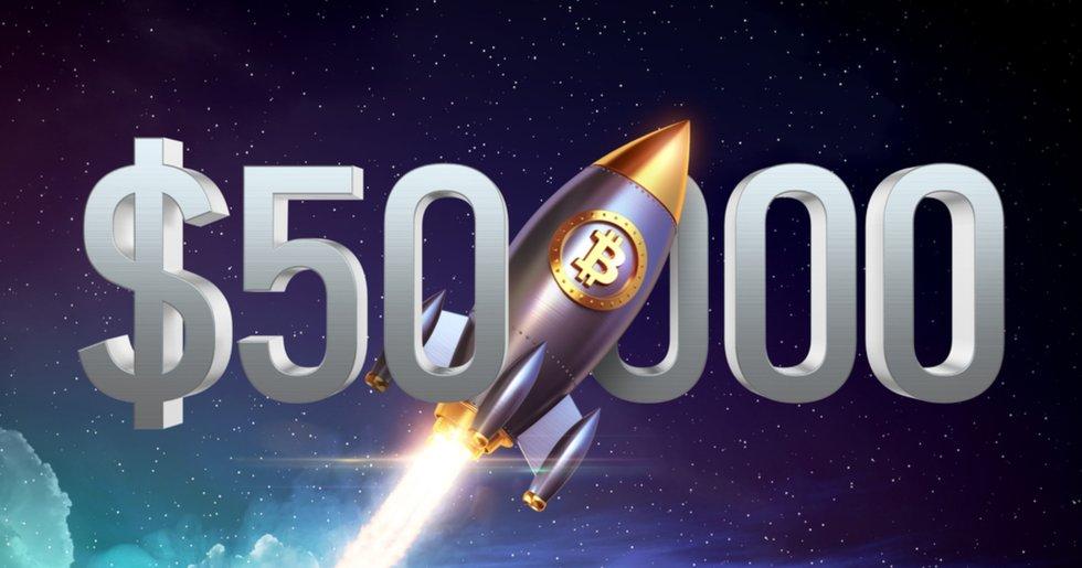Bitcoinpriset passerar 50 000 dollar – för första gången någonsin